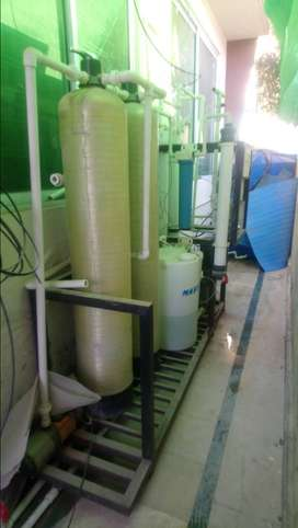 Used Mineral Water R.O Plant