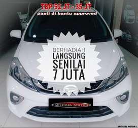 Daihatsu All New Sirion AT 2018/2019 KM 12rb Antik Seperti Baru