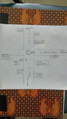 Tanah murah lokasi strategis Banjarmasin
