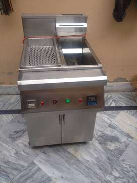 Deep Fryer 16 liter with sizzling