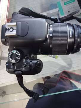 DSLR camera 600D Canon with 18*55 lens