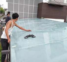 Kanopi kaca dan canopy solarflat #499