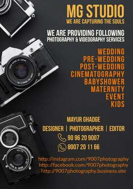 Pre-wedding, Wedding photography Services start from 10,000/-