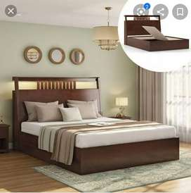 Newly made double bed  multiple design direct from manufacturers
