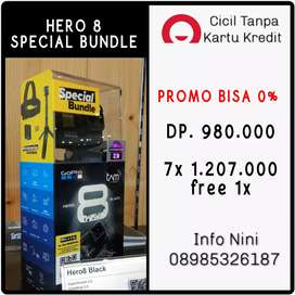 Bisa 0% Go Pro Hero 8 Black Special Bundle