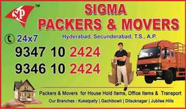 Sigma packers and movers