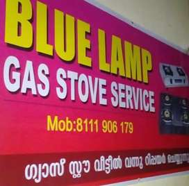 Gas stove service at home