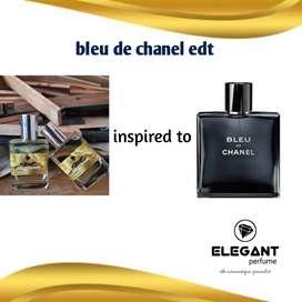 Elegant perfume inspired to bleu de chanel 35ml