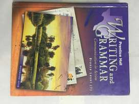 Writing and Grammar English book by Prentice Hall