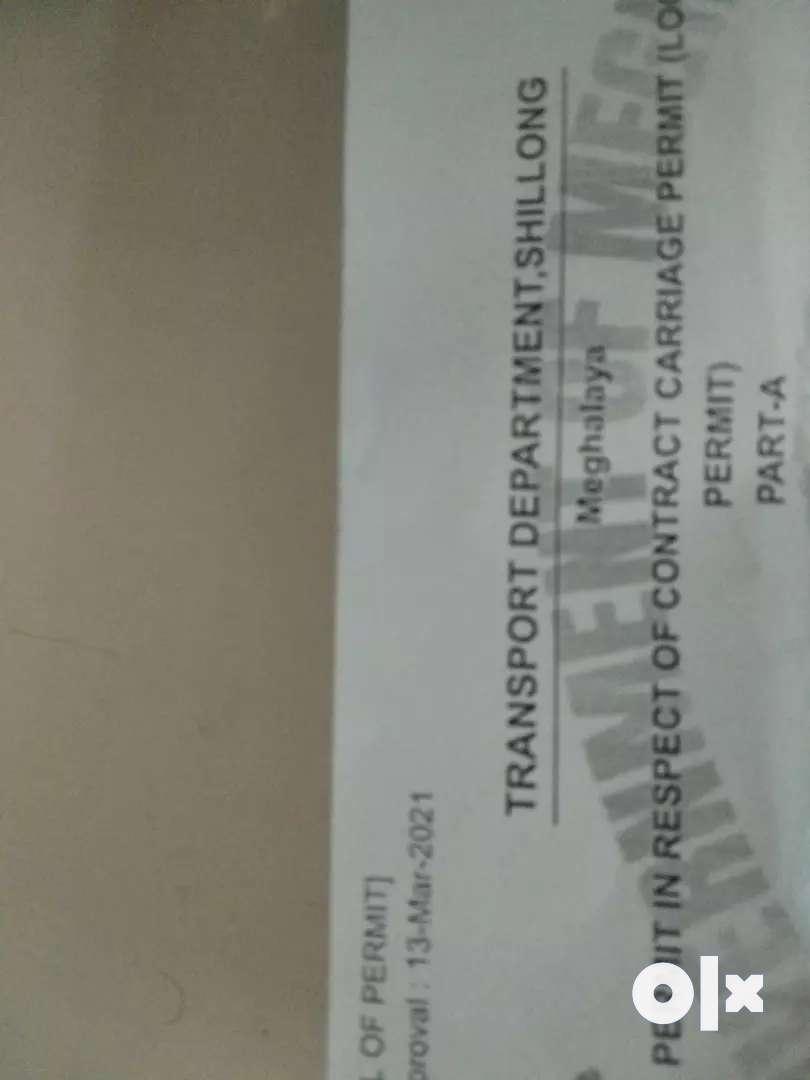 Shillong taxi permit