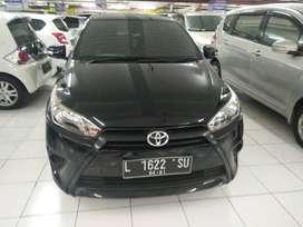 Toyota Yaris E 2016 hitam manual