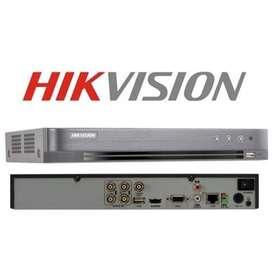 DVR Hikvision TURBO HD 4CH DS-7204HQHI-K1(S) Audio