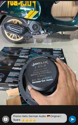 Speaker 2 Way Coax Helix Germany Audio | Plus Pasang
