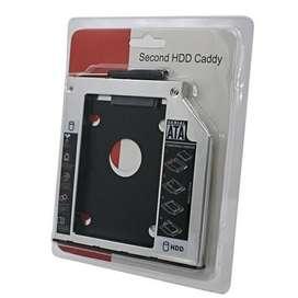 Hardisk caddy for laptop 9.5 slim 9,5mm 12.7 12,7mm HDD Cady