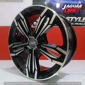 Pelek Mobil HSR R15 MERKIN Ring 15 Lebar 6 Pcd 4 Agya Ayla Sigra Dll