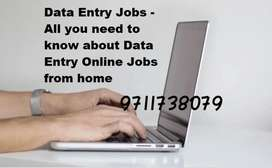 Urgent vacancies for data entry work from home simple typing job