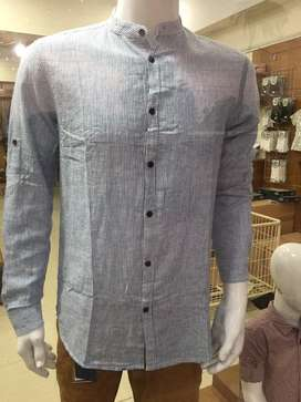 men casual shirts pull & bear in different prints