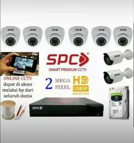 PAKET LENGKAP CCTV FULL HD