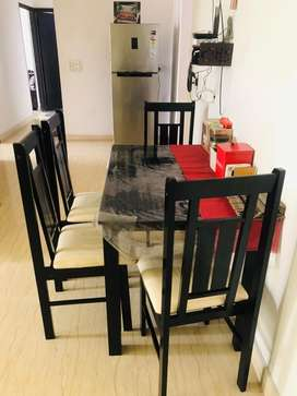 Almoat new Dining table from Pepperfry