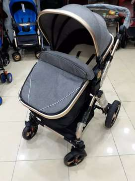 Baby pram with cary cot