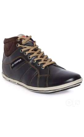 Lee Cooper Stylish Leather Casual Shoe - Size 9
