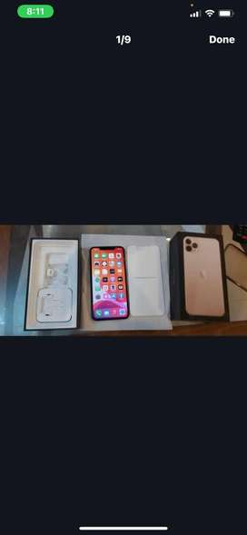 Iphone 11 pro max 256gb Gold better than X,Xs Max 11,