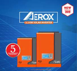 SOLAR HYBRID INVERTER - 2.2KW - AEROX - 5 Year Warrant by Inverex
