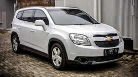 Chevrolet Orlando LT AT Tahun 2012 Plat L Surabaya