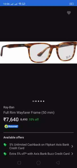 Ray Ban frame brand new
