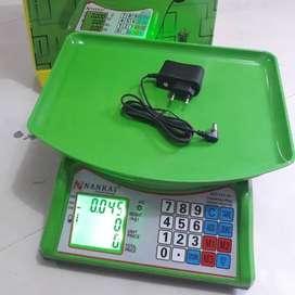 Timbangan Duduk Meja Barang / Laundry Digital Nankai 40 Kg
