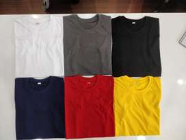Round Neck Bio Washed Tshirts: minimum order 100 pieces