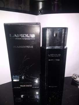 LAPIDUS BLACK EXTREME PERFUME FOR MEN  MADE IN FRANCE IMPORTED