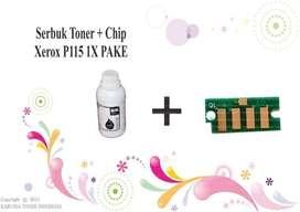 Serbuk Toner + Chip Xerox P115 1X Pake