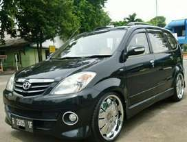 Toyota Avanza G 1.3 manual th 2005 Hitam