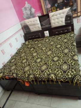 Double Bed box without mattress