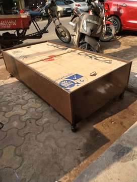 Brand new single bed with box at reasonable price