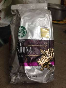 Starbucks, Dunkin Donuts & Peets (Brazil) Ground Coffee packs