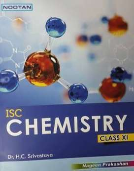 +1 isc chemistry book