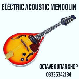High Quality Semi Acoustic Mendolin