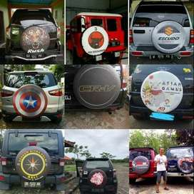 Cover/Sarung Ban Terios/Jimny/Ford Ecosport/Rush/Best Design#Inter Mil