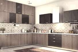 Branded Modular kitchen in low pricebudget. free demo models available