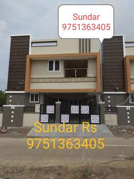 1 core 4 Bhk individual bangalow type house sale in Vadavalli