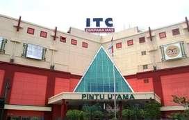 Dijual Kios ITC Cempaka Mas Lt. LG Jakarta Pusat