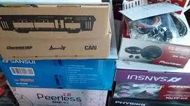 jual paketan audio mobil dan paketan peredam kabin mobil
