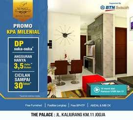 DP 0% Utk Makassar,Miliki Apartemen diKawasan Kampus&Wisata,The Palace