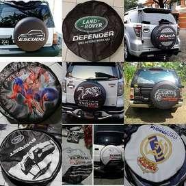 Sarung Ban Serep Mobil JeepAll-Ecosport cover ban rush vitara panther