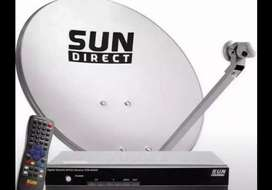Dish Antenna provide complete set-up
