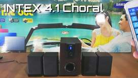 Intex 4.1 XV Choral TUFB 55 Watt Bluetooth Home Theatre Speaker