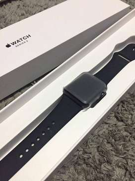Iwatch series 3 38mm black GPS