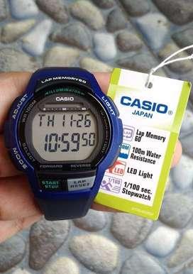 Jam Tangan Casio WS-1000H Original 10 Tahun Baterai